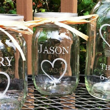Personalized Sand Ceremony Mason Jar  Add a Jar to include children 1 pint size