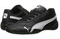 NEW Puma Tune Cat 3 Jr (Big Kid) (Black/ White) Boys Shoes Size 4C