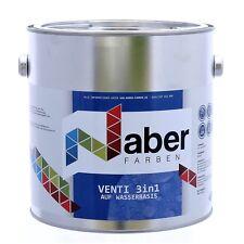 (11,20 €/L) 2,5 L -VENTILACK - RAL 7040  Fenstergrau - 3 IN 1 -Seidenglanz -Holz