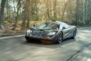 McLaren F1 10 Super Sport Speed Luxury Race Car Poster or Canvas Premium A4-A0