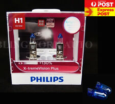 FREE T10 PHILIPS H1 X-treme Vision Plus +130% Halogen Light bulbs extreme xtreme