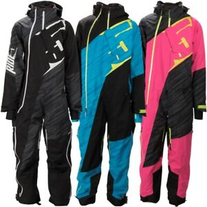 509 Allied Insulated Winter One-Piece Snow Mono-Suit - Black Ops, Blue, or Pink