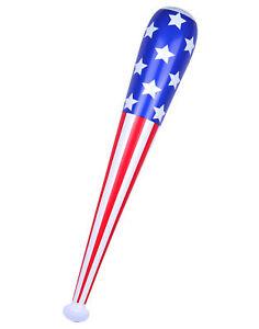 Inflatable USA Baseball Bat - Bat Fancy Dress Accessory Prop American Blow Up