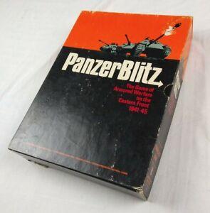 Vintage 1970 PanzerBlitz Board Game - Armored Warfare (UNPUNCHED) Panzer Blitz!