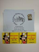Vintage Promo Disney Pinback Button 500 Stores 1996 Europe Pin Store 1997 Lot