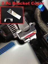 Corvette C6 LS2 LS3 Stainless 2Pc ALTERNATOR BRACKET.COVER chrome engine 05-13