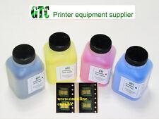 4x Toner Refill+Chip for HP CB540A CB541A CB542A CB543A, USA FG Toner CP1215