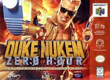 Duke Nukem Zero Hour N64 Great Condition Fast Shipping