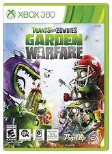NEW Plants vs. Zombies: Garden Warfare  (Xbox 360, 2014) US Version