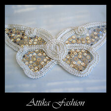 Dazzling Butterfly --- Lace Sequin Trim *Per applique* *Wedding* *Costumes*