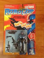 Vintage 1993 Electronic Robocop Action Figure with Weapon Arm & Rifle MOSC