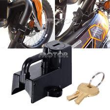 Black Motor Universal Helmet Lock Fit Honda Ruckus Aero Victory Hammer 8-Ball
