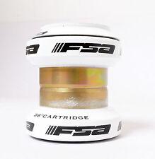 "mr-ride FSA Orbit MX 34mm Threadless Headset W/O top cap 1-1/8"" White"