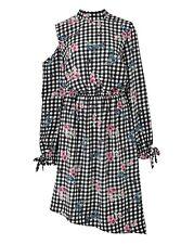 Cold Shoulder Ruffle dress womens PLUS size 16 bnip