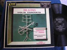 Christian Ferras-Carl Schuricht/Brahms Violin Concerto/DG/Richmond B 19018/MINT-