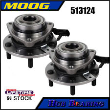 2Pcs Front Wheel Bearing Hub Assembly for 1998-2004 Chevy Blazer S10 GMC Sonoma