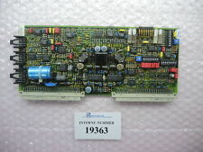 Amplifier card Sn. 105.937, Bosch No. B 830 303 313, Arburg used spare parts