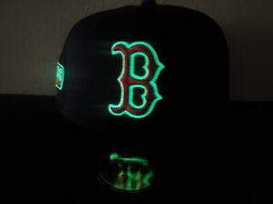 Hat Club Exclusive Boston Red Sox Navy UV Gray Sz 7 3/8 2007 World Series GITD