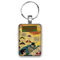 Detective Comics #244 Cover Key Ring or Necklace Vintage Batman Robin Comic Book
