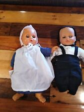 Vintage Amish Baby Dolls Plastic and Cloth