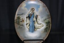 Our Lady Of Medjugorje The Bradford Exchange Visions Of Our Lady Porcelain Plate