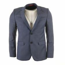 HUGO BOSS Jacket Navy Virgin Wool Super 100 Size 48 HC 408