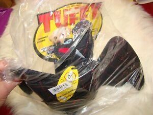 Tuffy's Desert Bat Squeaky Plush Dog Toy - Tuffy Brand New Sealed