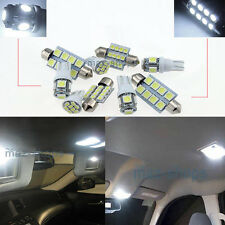 White LED Interior Light Kit 12 Bulbs Package FIT Seat Leon ST FR MK3 W1