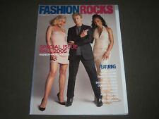 2005 OCTOBER FASHION ROCKS MAGAZINE - DAVID BOWIE COVER - GWEN STEFANI - K 1534