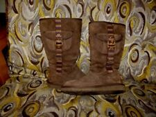 Ugg Australia Retro Cargo Espresso Brown 1895 Women's Boot Size 7 USA / 5.5 UK