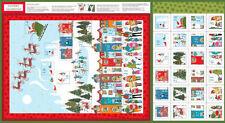 Makower Holiday/Christmas Craft Fabric Panels