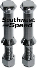 NEW SWS 1928-1948 FORD FLAT TOP SPRING PERCH BOLTS,SUICIDE FRONT END,CHROME,PAIR