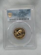 1990  CHINA GOLD  25 YUAN PANDA LARGE DATE PCGS MS-68