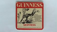 Guinness Scuba Diver Beer Coaster