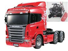 56323 TAMIYA TRUCK SCANIA R620 Highline 1/14th R/C Truck Combo + GT Sound/Lumières