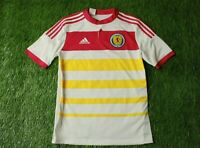 SCOTLAND TEAM 2014-2015 FOOTBALL SHIRT JERSEY AWAY ADIDAS ORIGINAL SIZE YOUNG XL