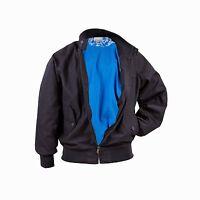 Vespa Mens Bomber Style Jacket Dark Blue New RRP £109.99!!! 605871M0