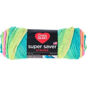 Red Heart Super Saver Yarn-Retro Stripe -E300-4971