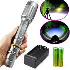 Ultrafire 10000Lumens 5Modes CREE XML T6 LED Flashlight 18650 Battery+Charger US