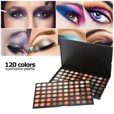 Paleta De Sombras De Ojos Colores Mate Brillo Cálido Maquillaje Profesional X120