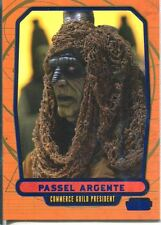 Star Wars Galactic Files Blue Parallel #87 Passel Argente