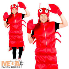 Novelty Lobster Mens Ladies Fancy Dress Stag Night Party Funny Adults Costume