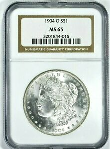 1904-O $1 Morgan Silver Dollar NGC MS65 (950-1) 99c NO RESERVE  Witter Coin