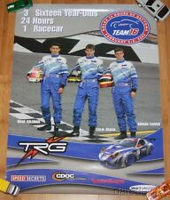 2005 TRG Racing #16 Porsche 996 GT3 Cup GT Rolex 24 Grand Am Poster Colin Braun
