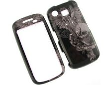 Solid Plastic Design Phone Cover Skull Wing For Samsung Impression A877