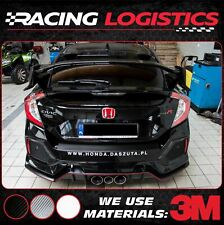 HONDA CIVIC 10 TYPE R TYPER CARBON 3M VINYL REAR BUMPER TRIM PROTECTOR 2017-19
