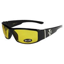 2er Pack Choppers 911 Locs Sonnenbrille gepolstert Brille Herren Damen schwarz