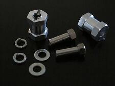 Pair Aluminum 17mm Wheel Extension Tamiya 1/10 F350 Axial Ax10 SCX10 12mm Hex
