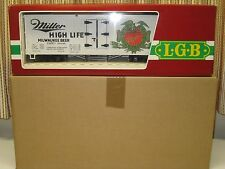 LGB #4072, Miller High Life Refrigerator Car, G Scale