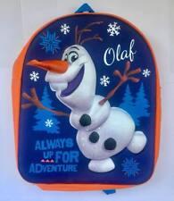 Disney 3D carácter Niños Mochila escolar FROZEN OLAF 3D Picnic días nuevos